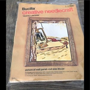 Bucilla Rustic Lantern Creative Needlecraft #2386